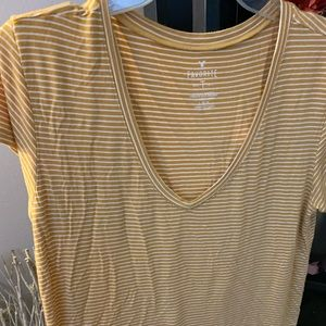 Stripped T-shirt American eagle